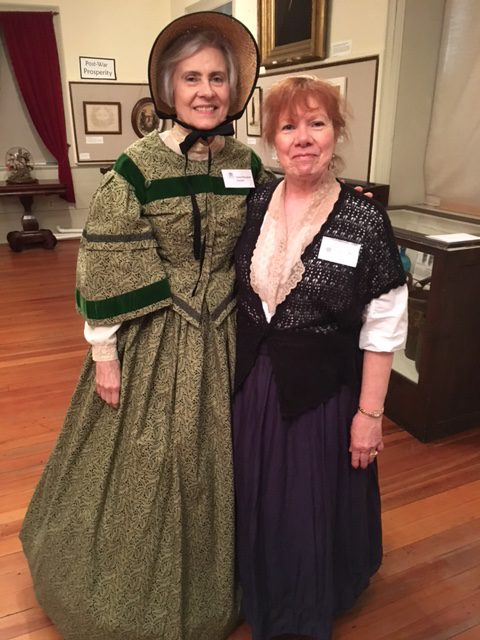 FHC Museum Docents in historical costume