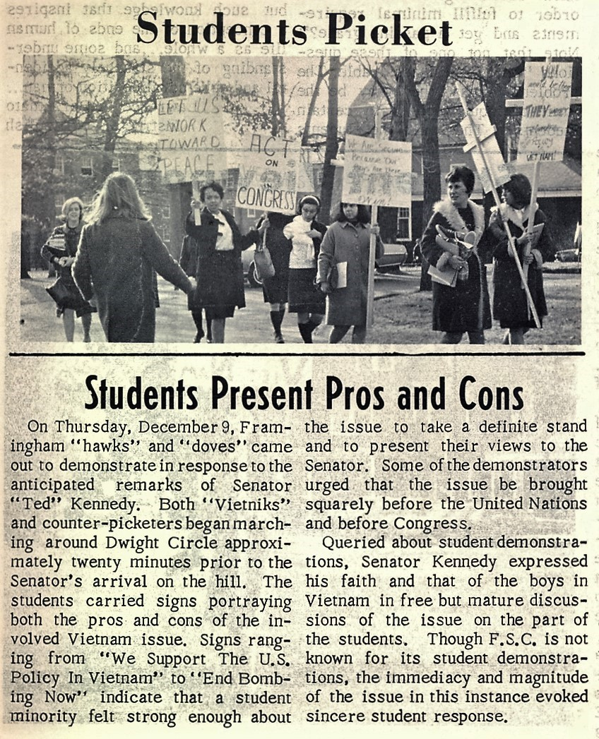 Students Picket news article