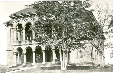 State Normal School Picture of Original Building erected in 1853